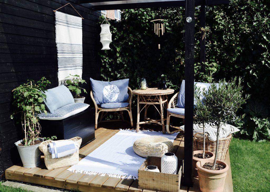 Inspiration til terrassen - forandring på budget - Annes finurlige ...