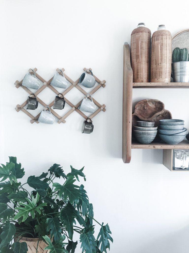 retro kopholder keramik