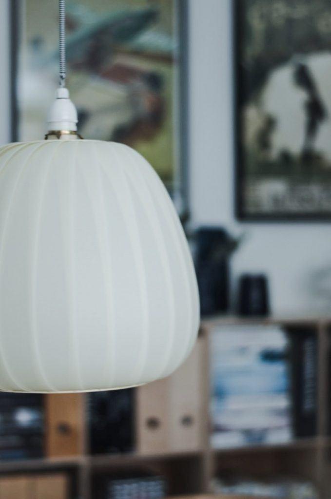lampe retro plast