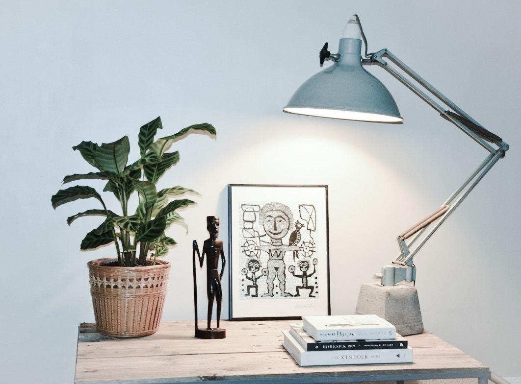 beton lampe diy