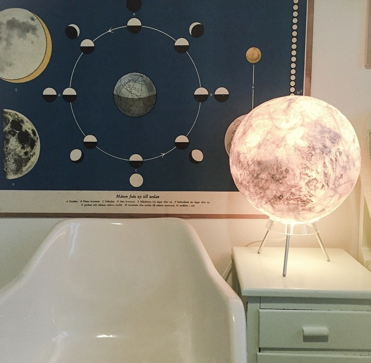 diy lamp Moon lampe luna