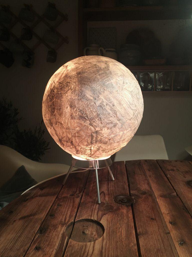 diy moon lampe