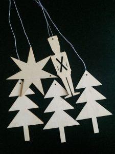 julepynt træ