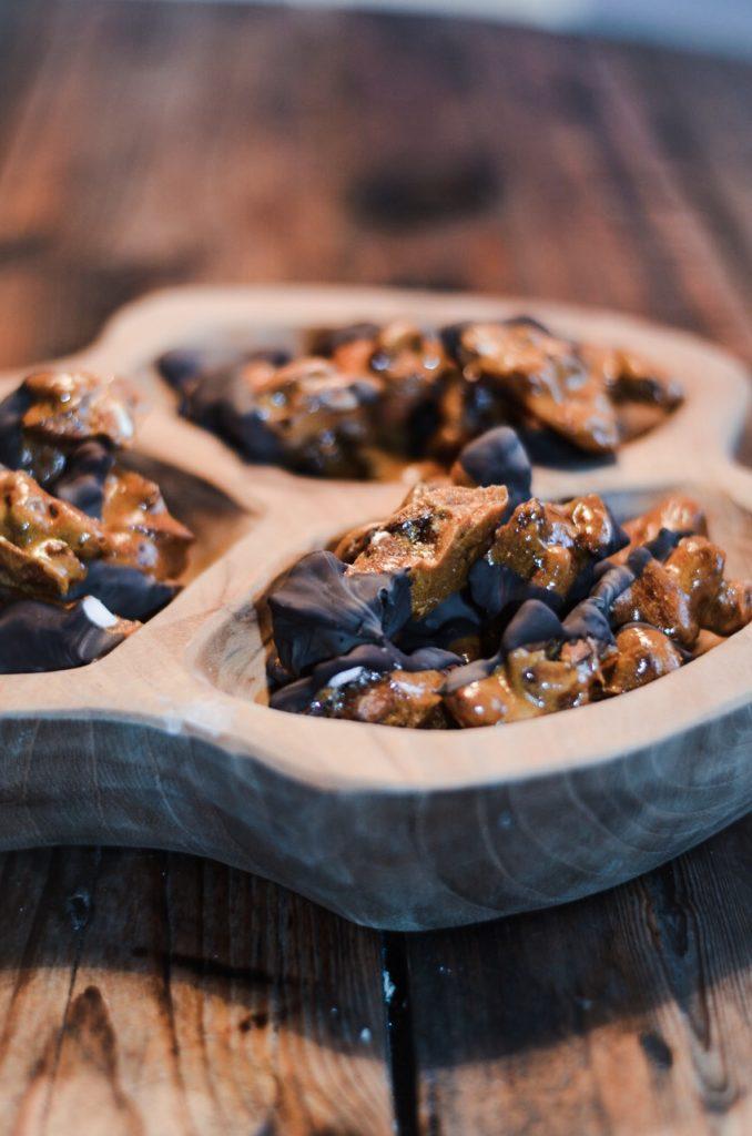 Juleknas mandler chokolade