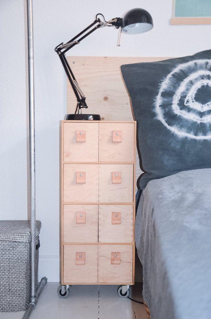 diy teen-værelse rå stil