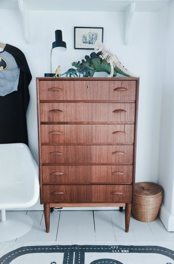 teak møbel makeover diy