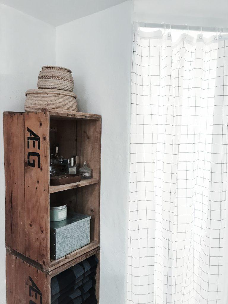 diy badeværelse epoxy house doctor retrolamper badeforhæng